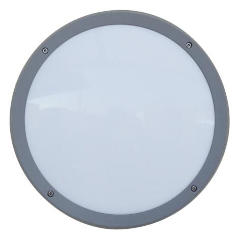 Luxera 48308 - Vonkajšie nástenné svietidlo s čidlom NUVOLA 30xLED SMD/13,5W/230V