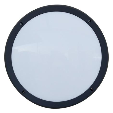 Luxera 48309 - Vonkajšie nástenné svietidlo s čidlom NUVOLA 30xLED SMD/13,5W/230V