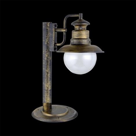 LUXERA 48402 - Lampička 1xE27/60W IP44