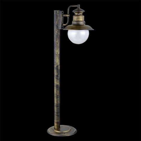 LUXERA 48403 - Stojanová lampa LIMASSOL 1xE27/60W IP44