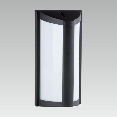 LUXERA 61024 - Vonkajšie nástenné svietidlo LARNACA 1xE27/60W