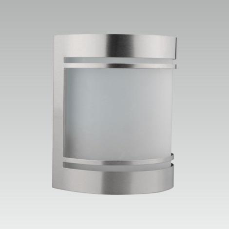 LUXERA 61030 - Vonkajšie nástenné svietidlo AZZURO 1xE27/60W