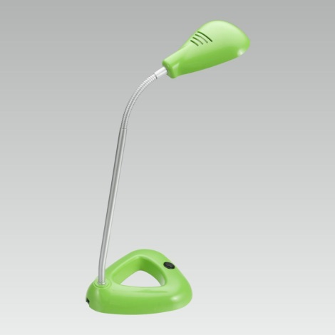 LUXERA 63102 - LED Kancelárska lampa FLIPP 1xSMD LED / 4,68 W zelená
