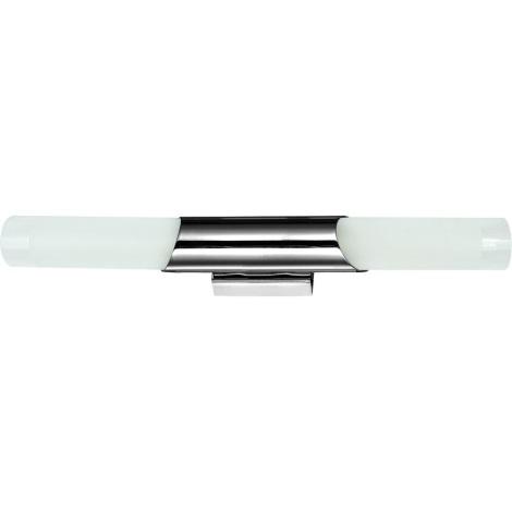 Luxera 65016 - Nástenné svietidlo ELIOT 2xE14/40W/230V lesklý chróm