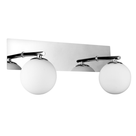 Luxera 65020 - Kúpeľňové svietidlo NAOS 2xG9/33W/230V