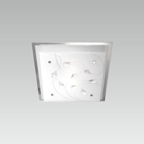 LUXERA 65105 - Stropné svietidlo IKAROS KRISTAL 1xE27/60W