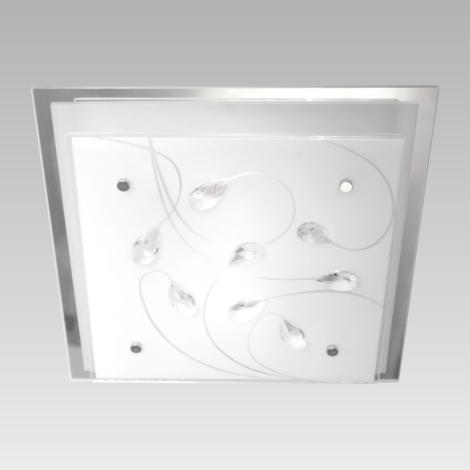LUXERA 65107 - Stropné svietidlo IKAROS KRISTAL 3xE27/60W