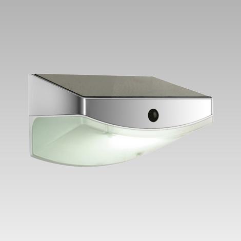 Luxera 65250 - LED Vonkajšie svietidlo s čidlom TARDIS 3xLED/0,5W/5,4V