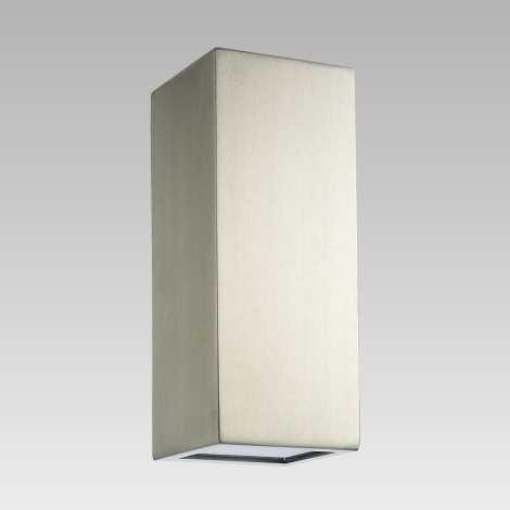 Luxera 65253 - Vonkajšie nástenné svietidlo BLOCK 2xLED/1,5W/230V