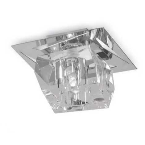 Luxera 69056 - Stropné krištáľové svietidlo FLOYD 1xG9/33W/230V