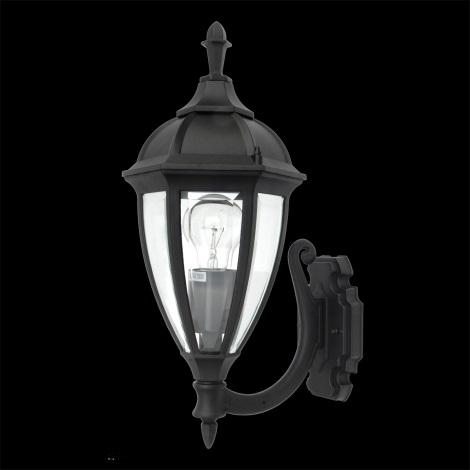 LUXERA 70125 - Vonkajšie nástenné svietidlo CALIFORNIA 1xE27/100W
