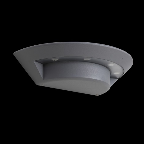 LUXERA 70129 - LED Vonkajšie nástenné svietidlo GHOST 4xLED/3W