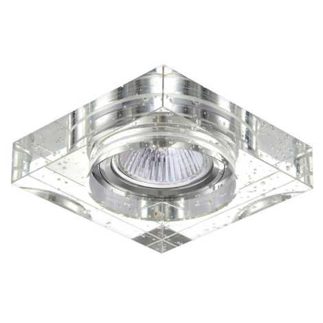Luxera 71069 - Bodové svietidlo CRYSTALS 1xGU10/50W/230V
