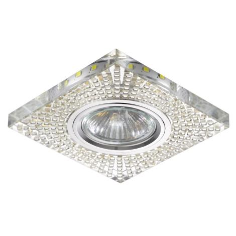 Luxera 71072 - Bodové svietidlo ELEGANT 1xGU10/50W/230V + LED STRIPE