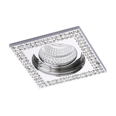 Luxera 71077 - Podhĺadové svietidlo CRYSTALS 1xGU10/50W/230V krištáľ