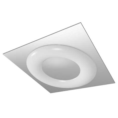 LUXERA 75301 - Stropné žiarivkové svietidlo MADISON 1xT5/55W hranaté
