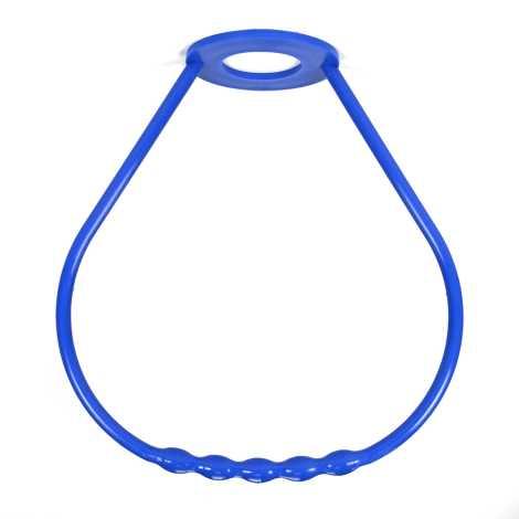 Madlo lustrové plast modré