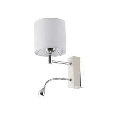 MANGO MA KB - LED nástenné svietidlo 1xE27/60W + LED/1W/230V