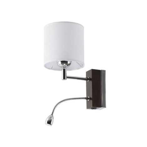 MANGO MAK V - LED nástenné svietidlo 1xE27/60W + LED/1W/230V