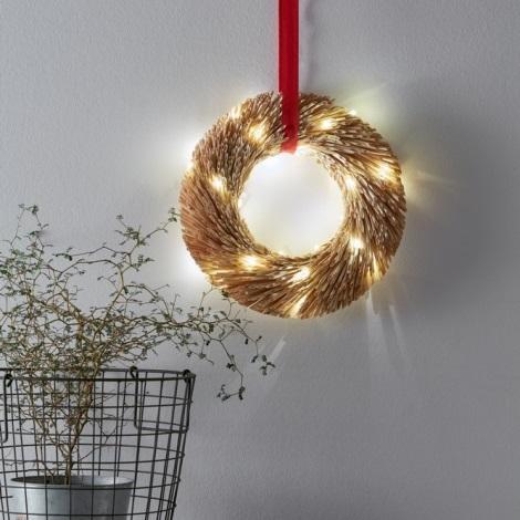 Markslöjd 703561 - LED Vianočná dekorácia BERTA 34xLED/0,06W/3xAA