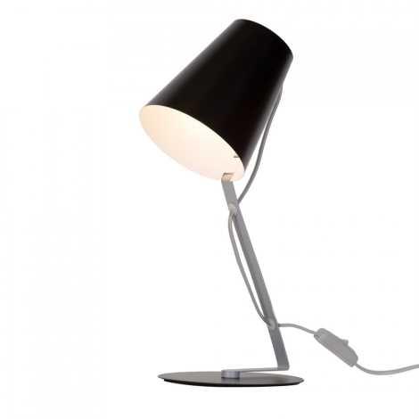 Massive 66620/30/10 - Stolná lampa SKIP 1xE14/12W/230V čierna