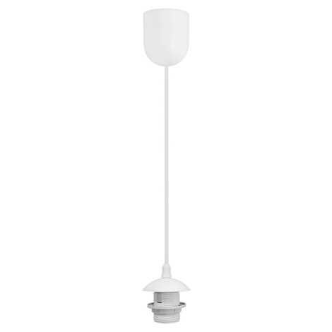Napájací kábel 1xE27/60W/230V biela