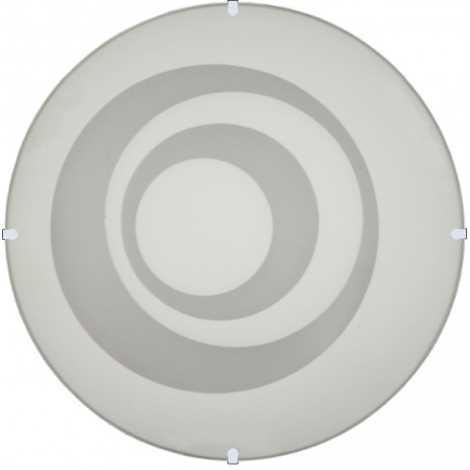 Nástenné stropné svietidlo RINGS, 2xE27/60W