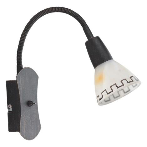 Nástenné svietidlo AZTEC gágor 1xE14/40W