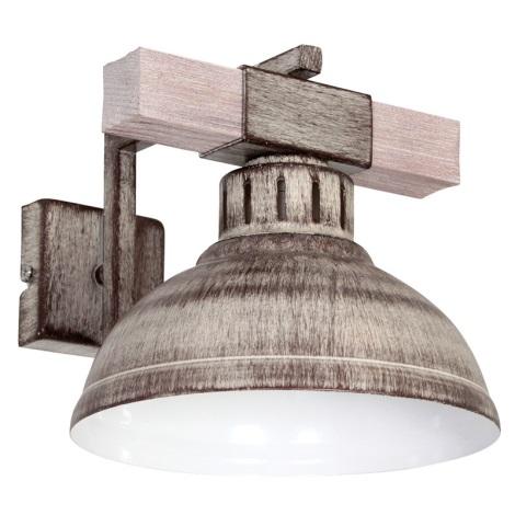 Nástenné svietidlo HAKON 1xE27/60W/230V svetlá