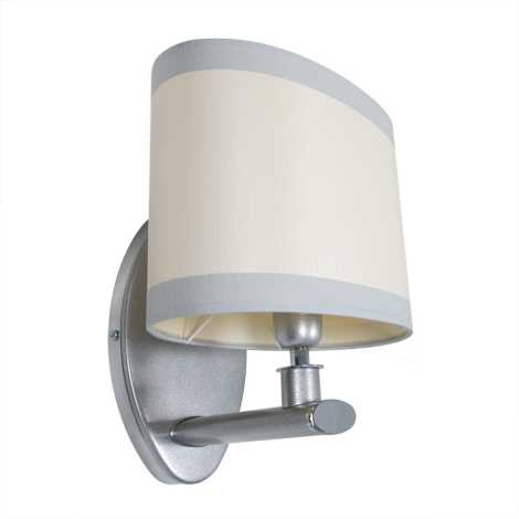 Nástenné svietidlo IKAR IAK s 1xE14/40W stříbrná