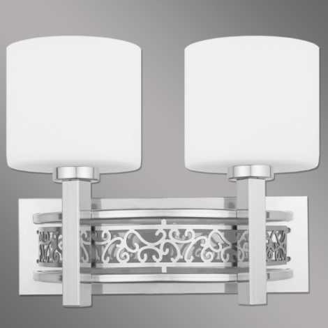 nástenné svietidlo Korento CH - 2xE14/60W/230V
