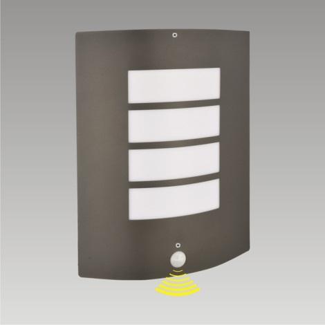 Nástenné svietidlo MEMPHIS 1xE27/60W sa senzorem