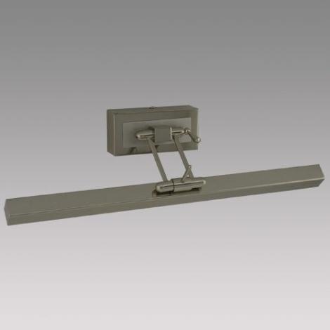 Nástenné svietidlo PICASSO 1xT5/13W/230V matný chróm/chróm