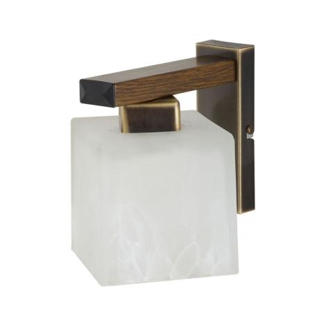 Nástenné svietidlo POLA POK 1xE27/60W patina - zlatá