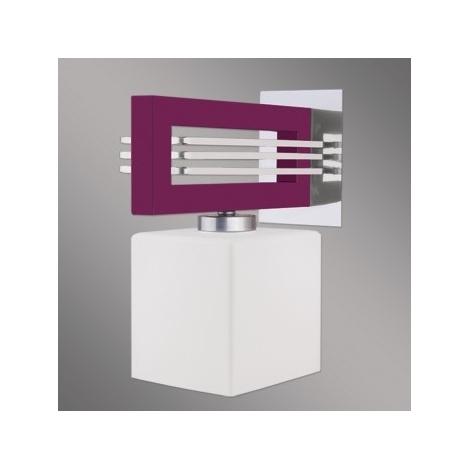 Nástenné svietidlo SANGA 1xE14/60W fialová