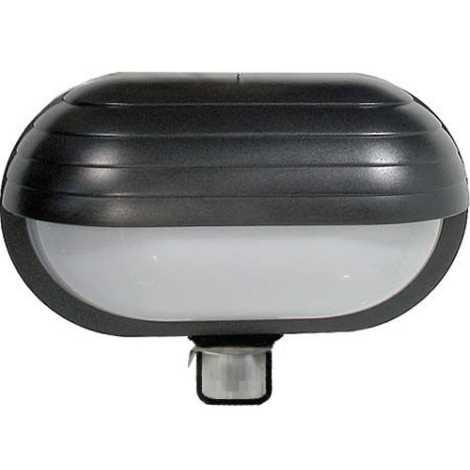 Nástenné svietidlo T261 1xE27/60W s PIR čidlom