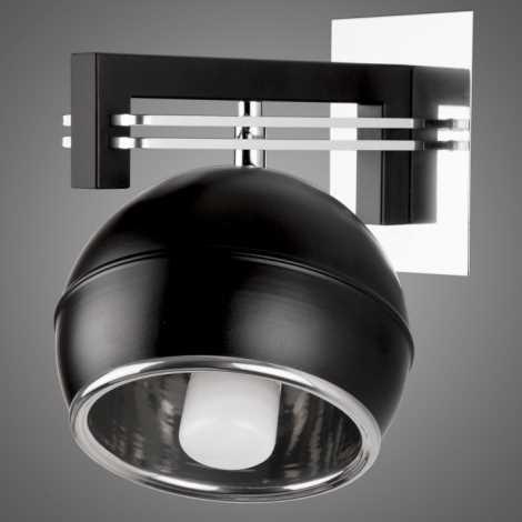 Nástěnné svítidlo SANGA SG/KU/K/BL 1xE14/60W černá