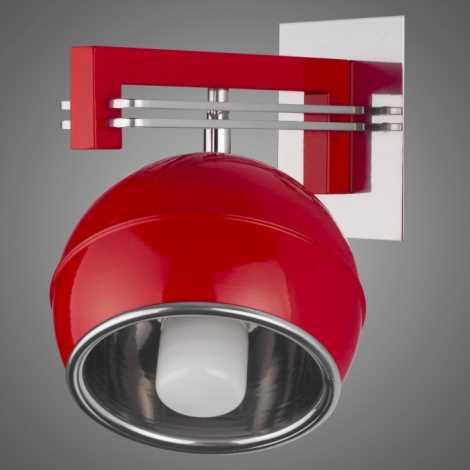 Nástěnné svítidlo SANGA SG/KU/K/RD 1xE14/60W červená