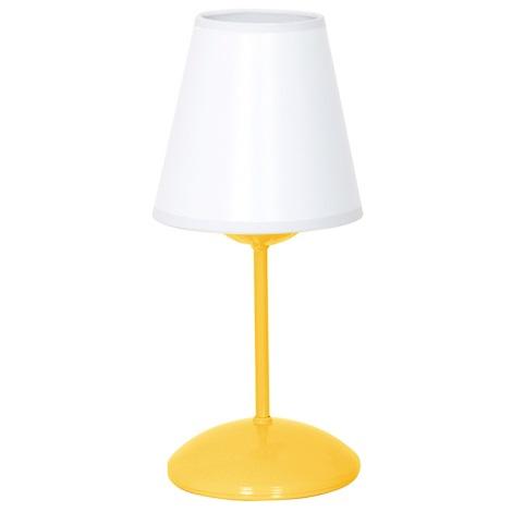Nočná lampička 1xE14/60W/230V žltá