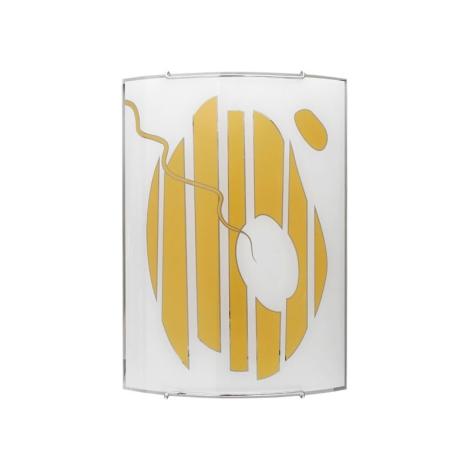 Nowodvorski 1176 - Nástenné svietidlo FISH GOLD 3 1xE27/100W