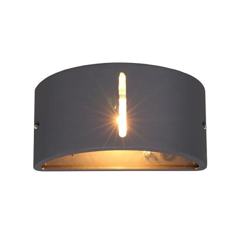 Nowodvorski 4388 - Vonkajšie nástenné svietidlo KONGO I 1xE27/20W/230V