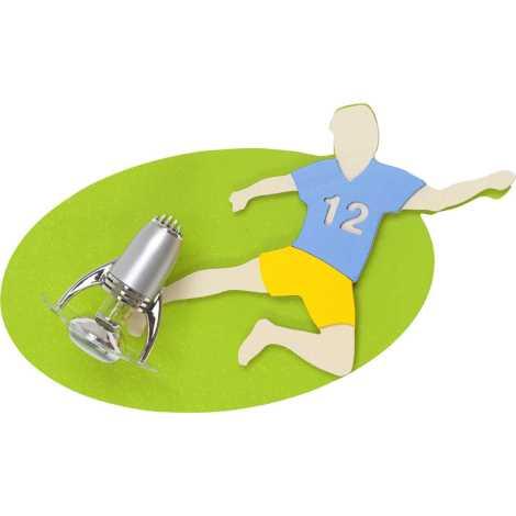 Nowodvorski 4712 - Detské bodové svietidlo FOOTBALL UKRAINE I 1xE14/40W