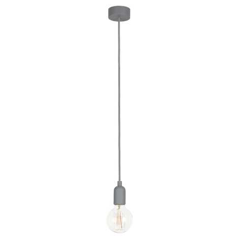 Nowodvorski 6398 - Závesné stropné svietidlo SILICONE 1xE27/60W/230V