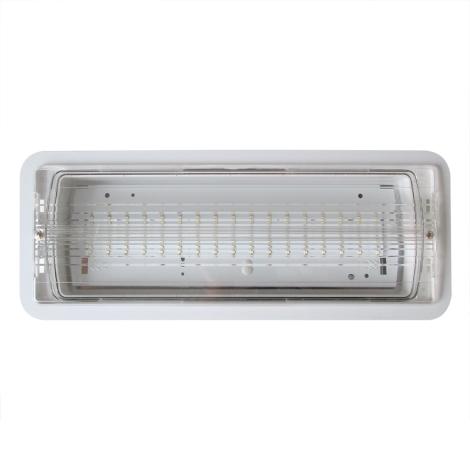 Núdzové svietidlo vstavané LED/1,74W/230V IP65