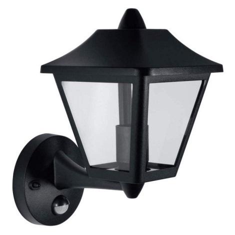 Osram - LED-E27/9W IP44 Vonkajšie nástenné svietidlo so senzorom ENDURA 1xE27/9W/230V