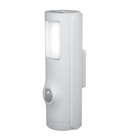 Osram - LED Schodiskové svietidlo so senzorom NIGHTLUX LED/0,35W/3xAAA IP54 biely