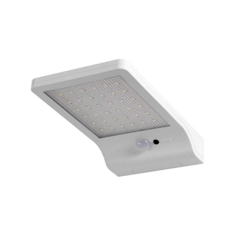 Osram - LED Solárne nástenné svietidlo so senzorom DOORLED 1xLED/3W IP44