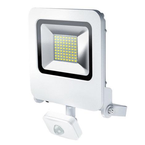 Osram - LED Vonkajší reflektor so senzorom ENDURA LED/50W/240V IP44 biely