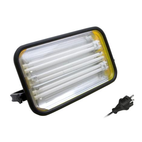 Panlux FG2Z-108/230 - Žiarivkový reflektor FORTUNA 3x2G11/36W/230V