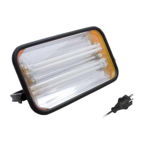 Panlux FG2Z-72/230 - Žiarivkový reflektor FORTUNA 2x2G11/36W/230V